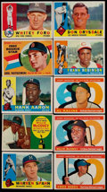 Baseball Cards:Sets, 1960 Topps Baseball Near Set (564/572)....