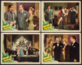 "Movie Posters:Comedy, Swing It Soldier & Other Lot (Universal, 1941). Lobby Cards (4) (11"" X 14""), Pressbook (16 Pages, 12"" X 18""), Ad Supplement ... (Total: 8 Items)"
