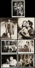"Movie Posters:Adventure, Samson and Delilah (Paramount, 1949). Behind The Scenes Photos (2)& Photos (5) (8"" X 10""& 10"" X 13""). Adventure.. ... (Total:7 Items)"