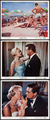 """To Catch a Thief (Paramount, 1955). Color Photos (3) (8"""" X 10""""). Hitchcock. ... (Total: 3 Items)"""