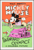 "Movie Posters:Animation, Barnyard Olympics (Circle Fine Art, R-1980s). Fine Art Serigraphs (5) (21"" X 30.75""). Animation.. ... (Total: 5 Items)"