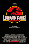 """Movie Posters:Science Fiction, Jurassic Park (Universal, 1993). One Sheet (27"""" X 40"""") DS Advance.Science Fiction.. ..."""