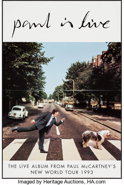 Paul is Live by Paul McCartney (Capitol Records, 1993