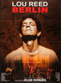 """Lou Reed's Berlin & Other Lot (Fortissimo, 2007). French Grande (45.5"""" X 62.25"""") & Video Poster (26.5&..."""