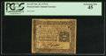 Colonial Notes:Pennsylvania, Pennsylvania October 25, 1775 2s PCGS Extremely Fine 45.. ...