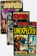 Bronze Age (1970-1979):Horror, Unexpected Group of 64 (DC, 1970-82) Condition: Average FN/VF....(Total: 64 Comic Books)