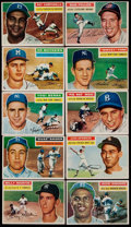 Baseball Cards:Sets, 1956 Topps Baseball Near Set (337/340). ...