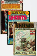 Bronze Age (1970-1979):Horror, Ghosts Group of 39 (DC, 1971-82) Condition: Average FN.... (Total:39 Comic Books)