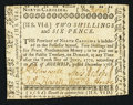 Colonial Notes:North Carolina, North Carolina December, 1768 2s 6d Very Fine.. ...