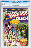 Bronze Age (1970-1979):Cartoon Character, Howard the Duck #22 (Marvel, 1978) CGC NM/MT 9.8 Off-white to whitepages....