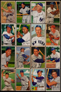 Baseball Cards:Sets, 1952 Bowman Baseball Partial Set (113/252) With 13 High Numbers. ...