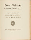 Books:Americana & American History, [Americana, Photography]. Clarence John Laughlin, photographer.David L. Cohn, text. SIGNED/LIMITED. New Orleans and its...
