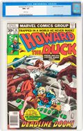Bronze Age (1970-1979):Cartoon Character, Howard the Duck #16 (Marvel, 1977) CGC NM+ 9.6 White pages....