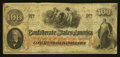 Confederate Notes:1862 Issues, T41 $100 1862 PF-18 Cr. 322... ...