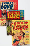 Golden Age (1938-1955):Romance, First Love Illustrated File Copy Group of 48 (Harvey, 1951-63).Condition: Average VF-.... (Total: 48 Comic Books)