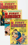 Golden Age (1938-1955):Romance, First Romance File Copy Group of 23 (Harvey, 1950-58) Condition:Average VF-.... (Total: 24 Comic Books)