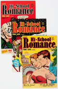 Golden Age (1938-1955):Romance, Hi-School Romance File Copy Group of 46 (Harvey, 1950-58)Condition: Average VF-.... (Total: 46 Comic Books)
