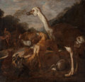 Fine Art - Painting, European:Antique  (Pre 1900), Flemish School (17th Century). Orpheus Charming the Animals.Oil on canvas. 19 x 19-1/2 inches (48.3 x 49.5 cm). ...