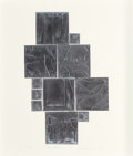 Post-War & Contemporary:Contemporary, Louise Nevelson (American, 1899-1988). Sky Garden, 1971.Lead intaglio relief on paper. 29-3/4 x 24-7/8 inches (75.7 x 6...