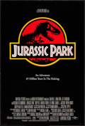 """Movie Posters:Science Fiction, Jurassic Park (Universal, 1993). One Sheet (26.75"""" X 39.75"""") DS.Science Fiction.. ..."""