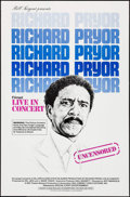 "Movie Posters:Documentary, Richard Pryor: Live in Concert & Other Lot (Warner Brothers, 1979). One Sheets (2) (27"" X 41""). Documentary.. ... (Total: 2 Items)"
