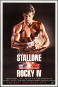 "Movie Posters:Sports, Rocky IV & Other Lot (MGM/UA, 1985). One Sheets (2) (27"" X 40"" X 27"" X 41"")SS Advance. Sports.. ... (Total: 2 Items)"