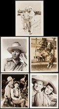 "Movie Posters:Western, Gene Autry Lot (Republic, 1939-1963). Portrait and Scene Photos (16) (8"" X 10""). Western.. ... (Total: 16 Items)"