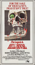"Movie Posters:Horror, The Legend of Hell House (20th Century Fox, 1973). Three Sheet (41"" X 77""). Horror.. ..."
