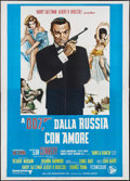 "Movie Posters:James Bond, From Russia with Love (United Artists, R-1970s). Italian 4 - Foglio(55"" X 77""). James Bond.. ..."
