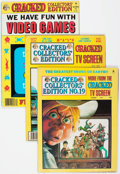 Magazines:Humor, Cracked Magazine Box Lot (All-American, 1970s-90s) Condition:FN/VF....