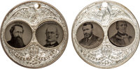 """Grant & Wilson and Greeley & Brown: A Perfectly Matched Pair of the Large-size """"Porthole"""" Ferrotype Ju..."""