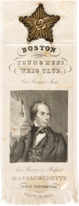 Political:Ribbons & Badges, Henry Clay: One-Day Event Ribbon....