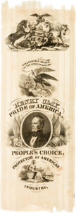 Political:Ribbons & Badges, Henry Clay: Pride of America Ribbon....