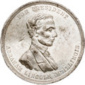 Political:Tokens & Medals, Abraham Lincoln: Large Campaign Medal....