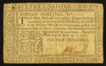 Colonial Notes:Pennsylvania, Pennsylvania April 10, 1777 16s Very Fine-Extremely Fine.. ...