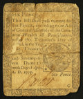 Colonial Notes:Pennsylvania, Pennsylvania April 10, 1777 6d Fine.. ...