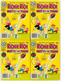 Bronze Age (1970-1979):Humor, Richie Rich Best of the Years #4 File Copy Long Box Group (Harvey,1980) Condition: Average NM-....