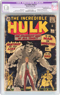 Silver Age (1956-1969):Superhero, The Incredible Hulk #1 Trimmed/Married Cover (Marvel, 1962) CGCApparent FR 1.0 Slight to Moderate (B-2) Cream to off-white pa...