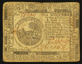 Colonial Notes:Continental Congress Issues, Continental Currency November 29, 1775 $6 Very Fine.. ...