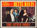 """Movie Posters:Drama, The Little Foxes (RKO, 1941). Lobby Card (11"""" X 14""""). Drama.. ..."""