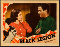 "Movie Posters:Crime, Black Legion (Warner Brothers, 1937). Lobby Card (11"" X 14""). Crime.. ..."