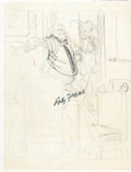 "Original Comic Art:Miscellaneous, Kelly Freas ""MAD Dutch Girl #4"" Preliminary Sketch Original Art(undated)...."