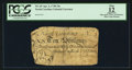 Colonial Notes:North Carolina, North Carolina April 4, 1748 10s PCGS Apparent Fine 12.. ...