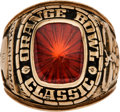 Football Collectibles:Others, 1979 Oklahoma Sooners Orange Bowl Ring....