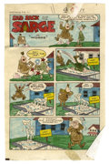 Original Comic Art:Miscellaneous, Sad Sack and the Sarge #76 Color Guide Original Art, Group of 25(Harvey, 1969). This lot features a set of twenty-five hand...(Total: 25 Items)