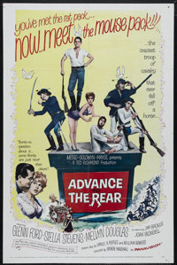 "Advance to the Rear (MGM, 1964). One Sheet (27"" X 41""). Glenn Ford stars as Captain Heath, the leader of a cav..."