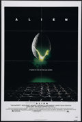 "Movie Posters:Science Fiction, Alien (20th Century Fox, 1979). One Sheet (27"" X 41""). The crew ofa mining ship investigates a distress signal from a ghost..."