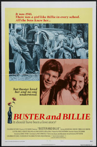 "Buster and Billie (Columbia, 1974). One Sheet (27"" X 41""). Style B. This romantic drama was directed by Daniel..."