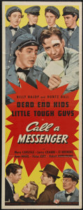 """Movie Posters:Crime, Call a Messenger (Universal, 1939). Insert (14"""" X 36""""). CrimeDrama. Directed by Arthur Lubin. Starring Mary Carlisle, Larry..."""