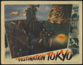 "Movie Posters:War, Destination Tokyo (Warner Brothers, 1943). Lobby Card (11"" X 14"").Cary Grant, John Garfield and Robert Hutton star in this ..."